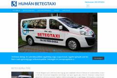 "<a href=""https://humanbetegtaxi.hu"" target=""_blank"">humanbetegtaxi.hu</a> - company website"